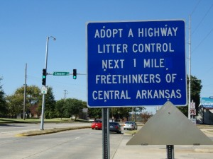 Adopt a Highway Atheist