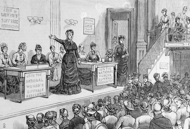 National American Woman Suffrage Association meeting